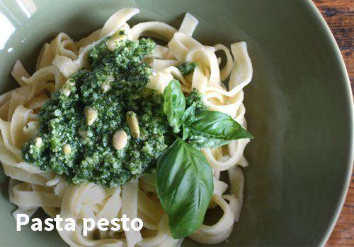 Pasta pesto #kauppahalli24 #resepti #pasta #pesto #ruokaanetistä #verkkoruokakauppa