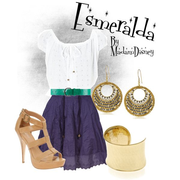 """Disney - Esmeralda"" by thunderbirdie on Polyvore"