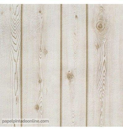 17 mejores ideas sobre papel pintado para paredes en for Papel pintado imitacion madera blanca