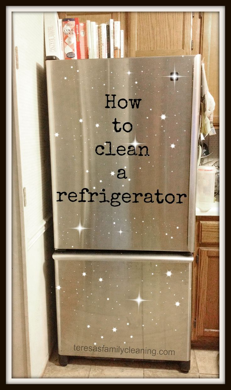 tips on how to clean your refrigerator cleaning mama pinterest refrigerators tips and. Black Bedroom Furniture Sets. Home Design Ideas