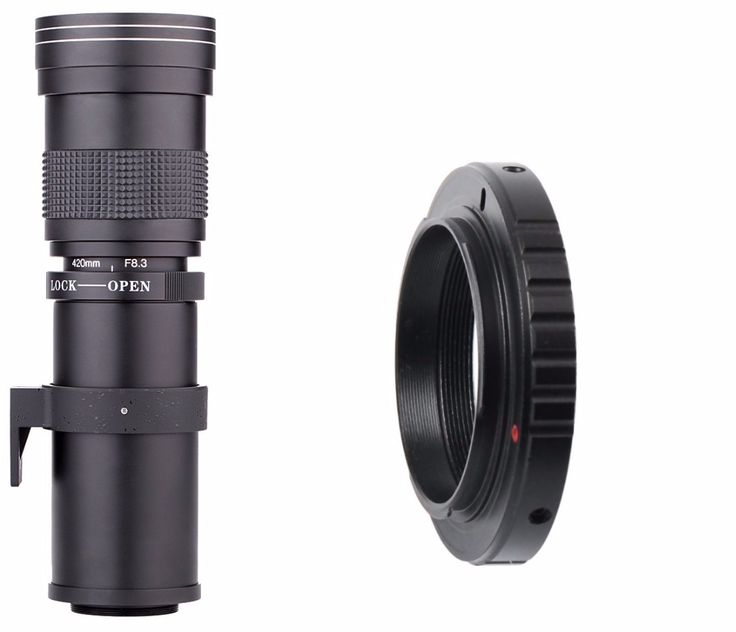 Lightdow 420 800mm F 8 3 16 Super Telephoto Lens Manual Zoom Lens for Canon Nikon. Click visit to buy #lenses #accessories
