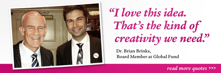 Dr. Brian Brinks' quote on dotHIV