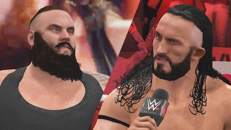 WWE 2K17 PC Mods - New Braun Strowman & Neville Wrestler Models (WWE 2017)