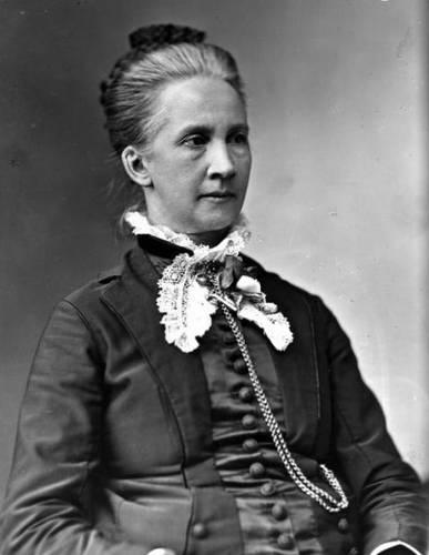 Belva Lockwood  Picture of Belva Lockwood, lawyer and women's rights advocate.
