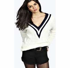 boohoo Cable Cricket Jumper - cream azz21522 Go back to nature with your knits this season and add animal motifs to your must- haves. When youre not wrapping up in woodland warmers, nod to chunky Nordic knits and polo neck jumpers in peppered ma http://www.comparestoreprices.co.uk/womens-clothes/boohoo-cable-cricket-jumper--cream-azz21522.asp