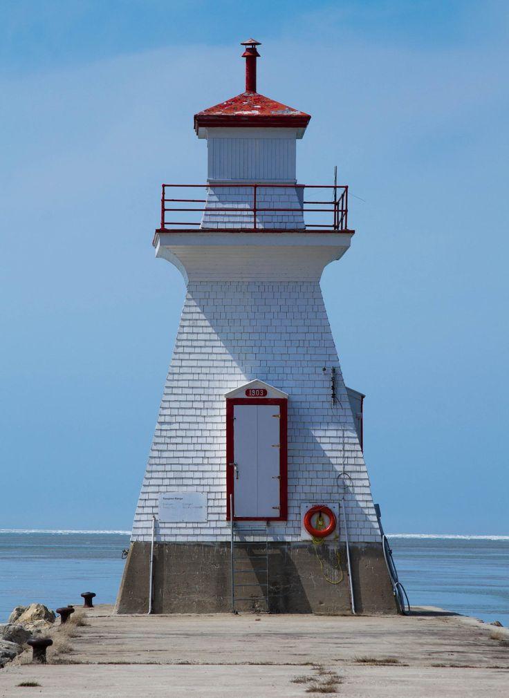 Southampton lighthouse, Bruce County, Ontario, Canada