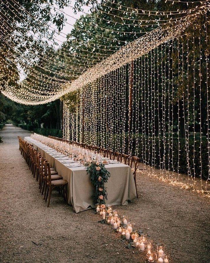 """Wedding Dream auf Instagram: """"Wer steht für diese Art von romantischem Empfan"""