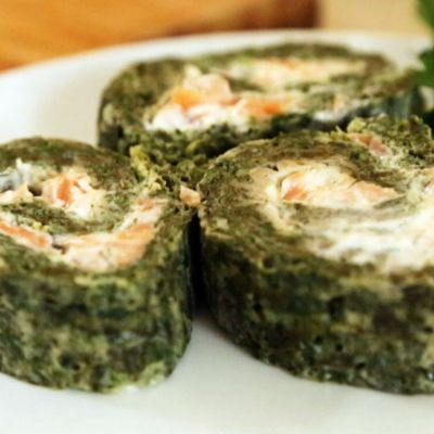Microwave Salmon Roulade