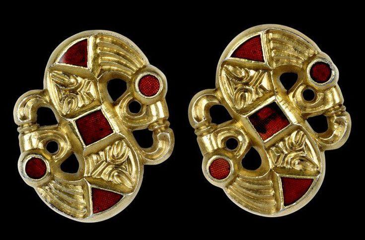 6th/7thC Langobardic s-brooch. Cividale, Italy