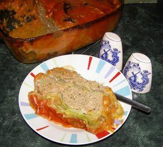 W Mojej Kuchni Lubię.. : gołąbkowa zapiekanka...