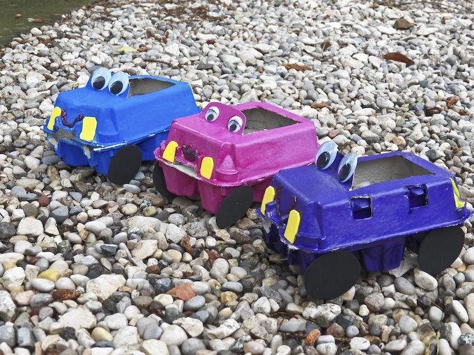 toy car eggcarton