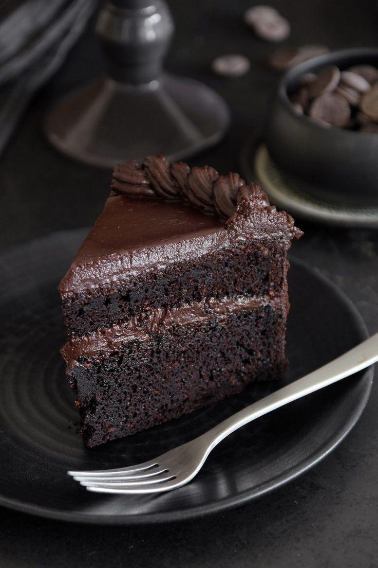 Dark Chocolate But Look Amazing Resep Kue Coklat Kue Lezat Makanan