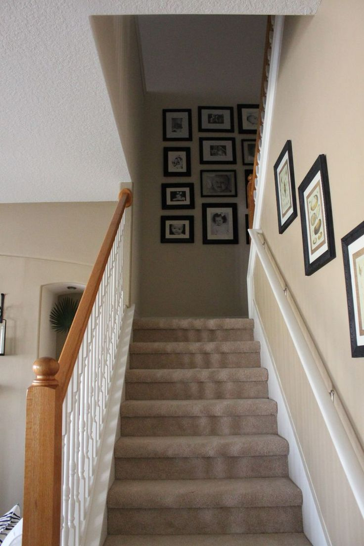 Basement Stair Landing Decorating: Interior: Graceful Decorating Ideas For Hallway Interior