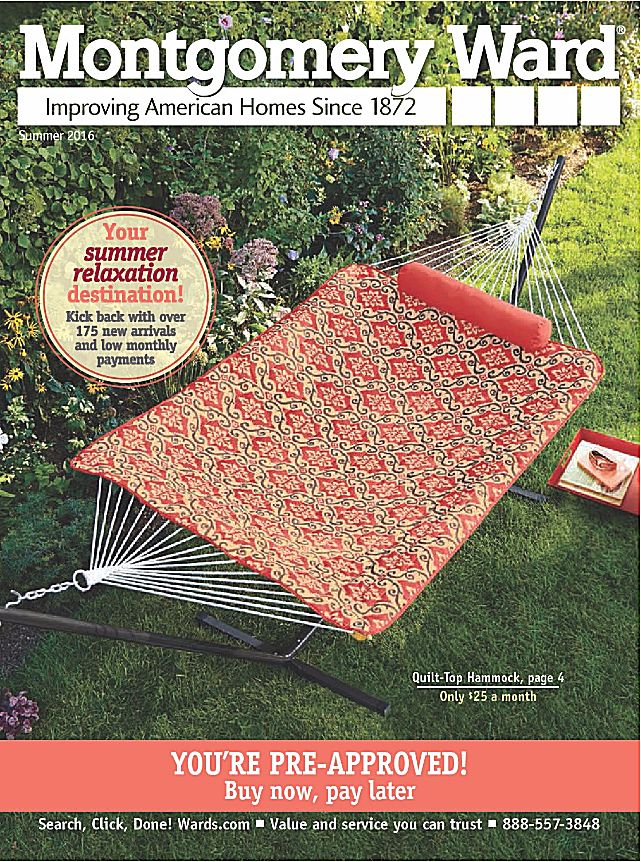 33 Home Decor Catalogs You Can Get for Free by Mail: Montgomery Ward Home Decor Catalog