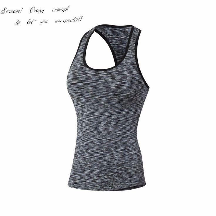 Women Fitness Sports Yoga Tank Quick Dry Vest Workout Camo Stretch T Shirt Tops  Ladies Vest No Rims Tank Tops