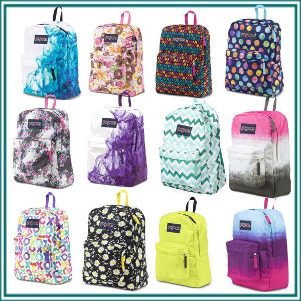 jansport superbreak bags:) by majellaj on Polyvore featuring polyvore fashion style JanSport
