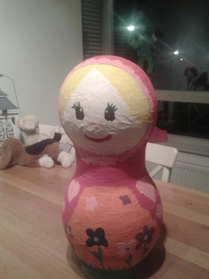 Surprise 2012 van Lise voor juf Simone