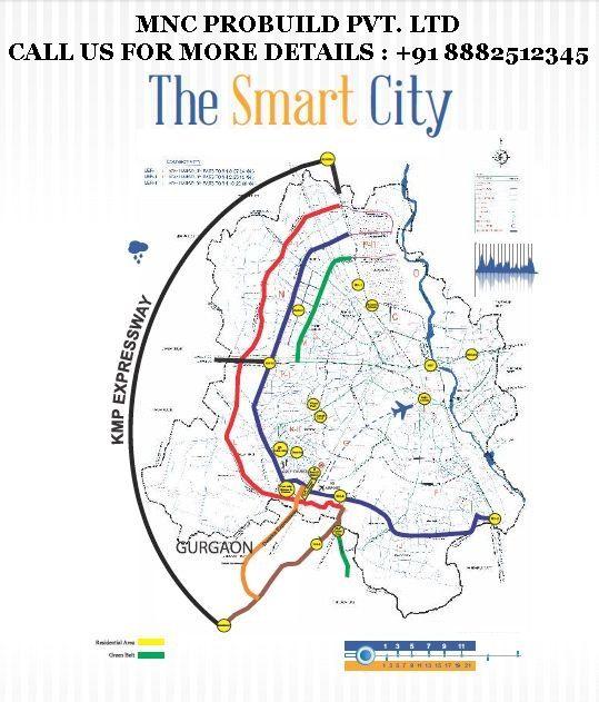Smart City Revanta Location Map , L zone Property , Smart Residency Dwarka Delhi