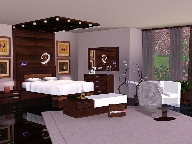 Brown Cherry Bedroom by Flowarin