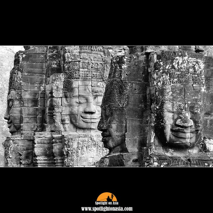 The faces of Bayon by Malcolm Fackender on 500px