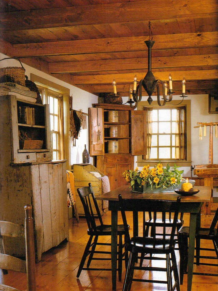 Top 25 Best Primitive Dining Rooms Ideas On Pinterest