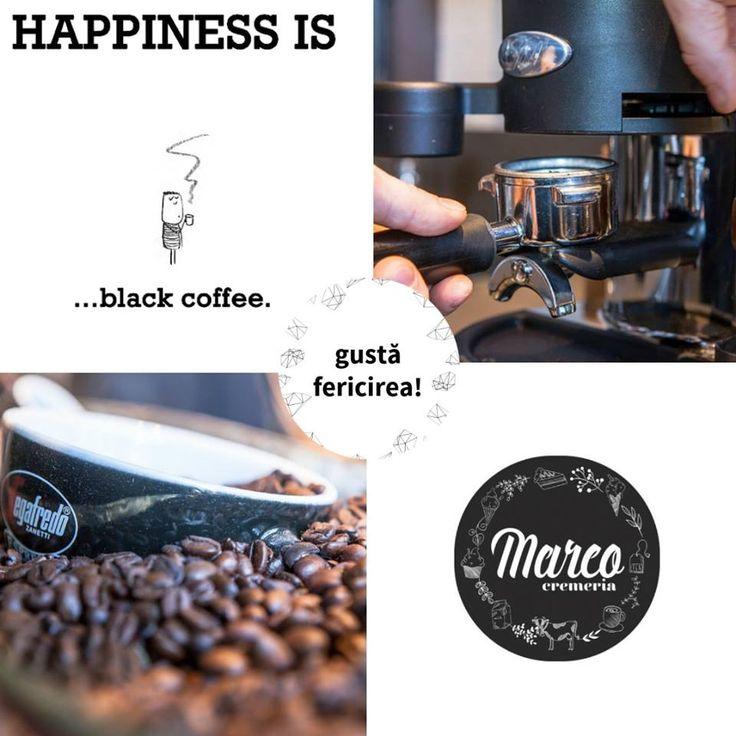 Dacă toată lumea povestește despre reducerile de Black friday ce ziceți de black coffee? #coffee #cremeriamarco #pitesti