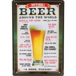 How+to+Order+a+Beer+-+Metallskilt+30x20+cm