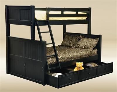 Black Bunk Beds For Kids