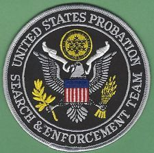 UNITED STATES PROBATION SEARCH & ENFORCEMENT TEAM POLICE PATCH