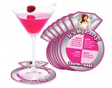These Bride to Be coasters are not just any coaster, they come in packs of 8 and have a total of 32 different activities to perform while sipping on your favourite drink with friends. $7.95 www.peckaproducts.com.au