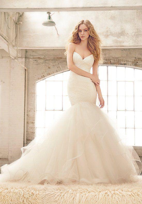 Blush by Hayley Paige Bianca / Style 1552 Mermaid Wedding Dress
