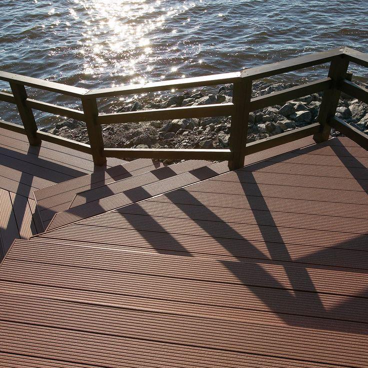 UPM ProFi Deck, Autumn Brown, Pori, Finland