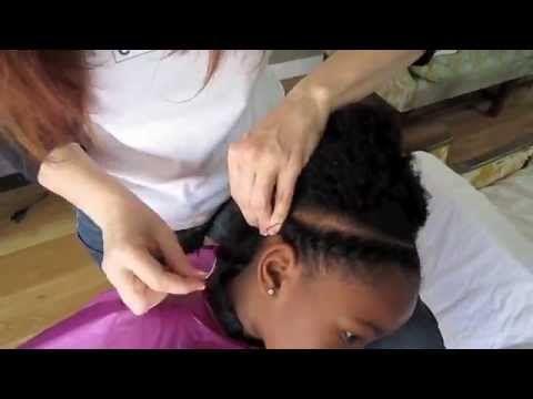 Flat African Hair Threading (Chocolate Hair / Vanilla Care)