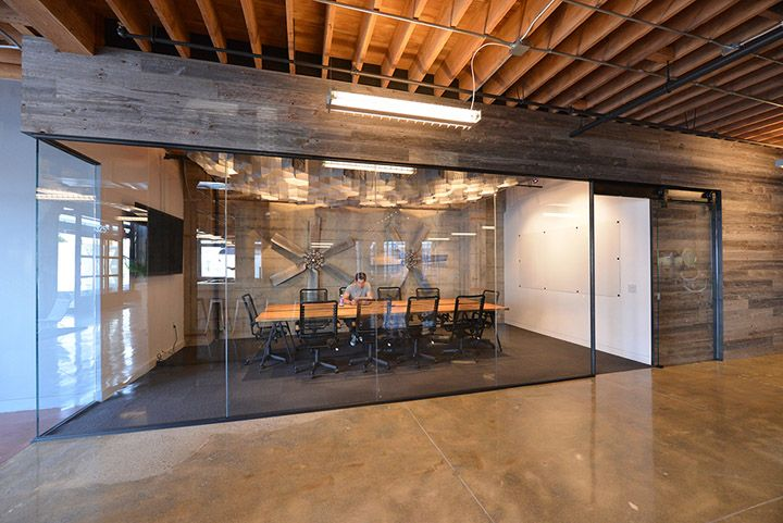This entire space is amazing!  Open spaces, collaborative work spaces, large meeting rooms.