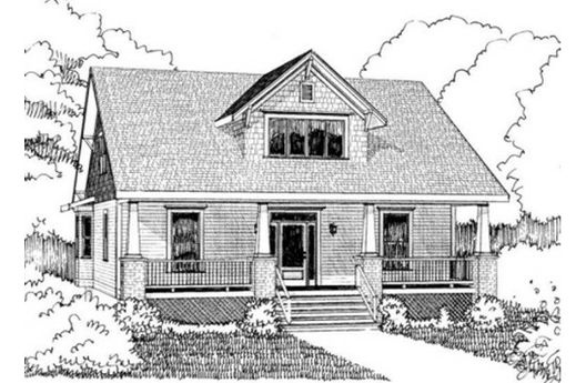 Bungalow House Plans 2000 Square Feet: This 1971 Square Feet Bungalow Style 3 Bedroom, 2 Bath