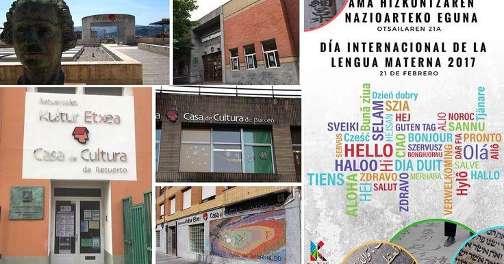 Las casas de cultura acogen talleres para celebrar el Día Internacional de la Lengua Materna