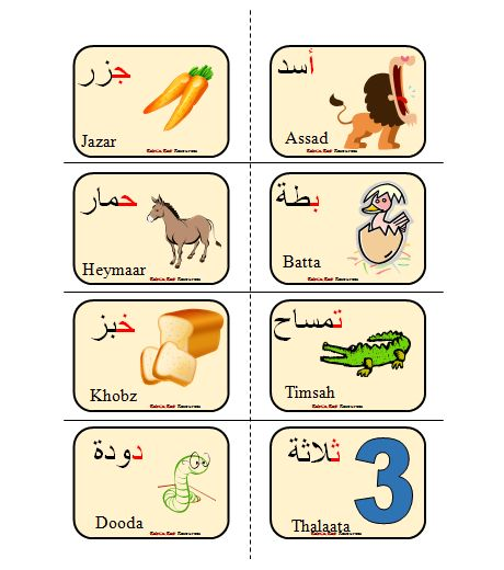 Includes 28 Arabic Alphabet Letters with a beginning letter sounds pictures. Print, laminate and learn new vocabulary today.  Click here-My Store for more Arabic Resources including:   1- ألادوات المدرسية  2- جِسْمي  3- أُسْرَتِي