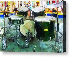 Snare Drum Set by Susan Savad - Snare Drum Set Photograph - Snare Drum Set Fine Art Prints and Posters for Sale