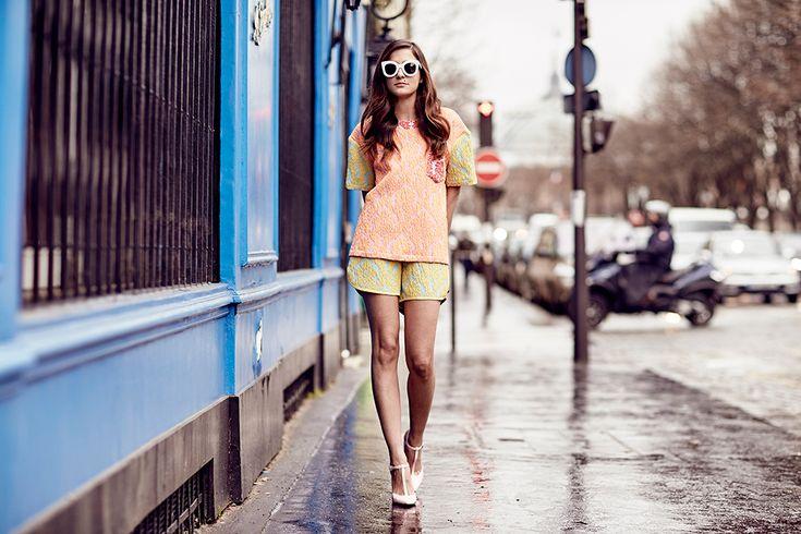 eccentric pastel outfit