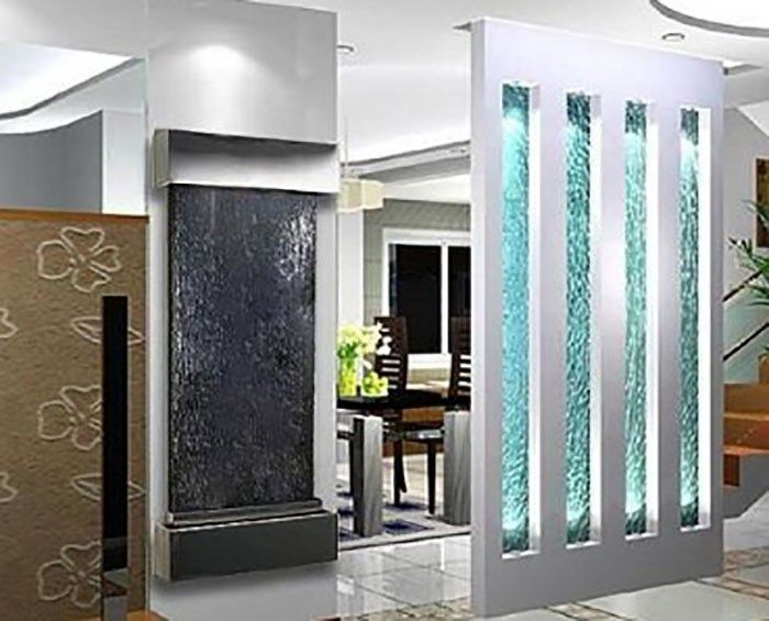 Fountain Design Ideas Waterfall Wall Indoor Wall Fountains