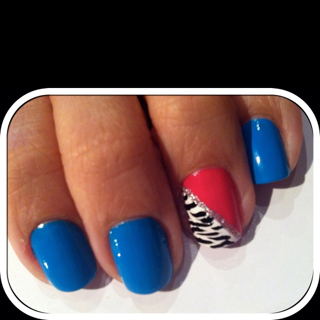 My own Summer Nails'11