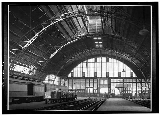 Grand Central Station Train Shed before 1903