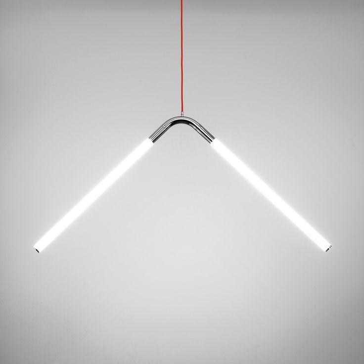 Ricca tubini sv led pendant light