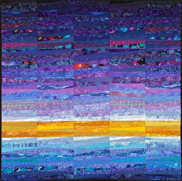 Quilts of Ann Brauer: http://www.behance.net/gallery/The-Quilts-of-Ann-Brauer-Abstract-landscapes-in-fiber/1092125