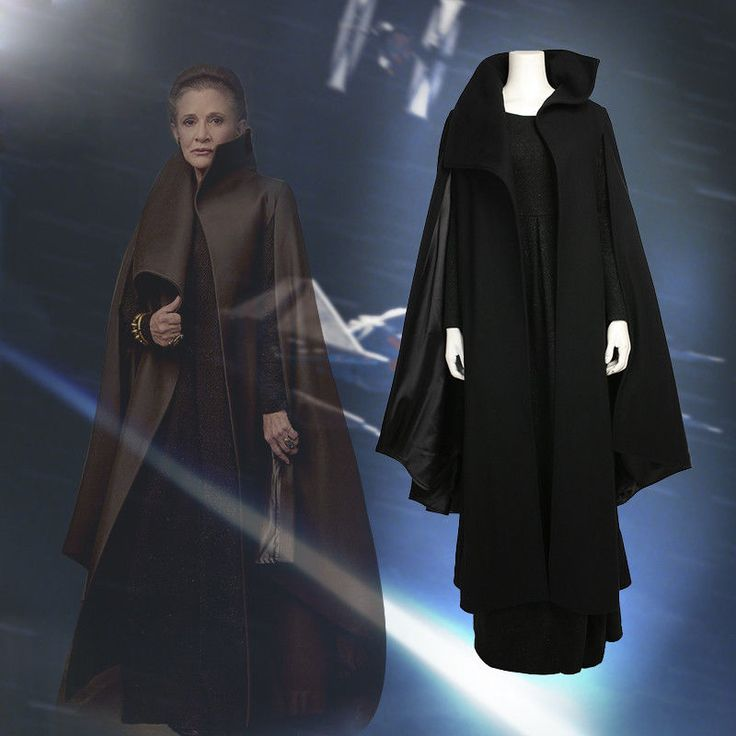 Star Wars Episode VIII The Last Jedi Princess Leia Cosplay Costume Dress Coat #Unbranded #CompleteOutfit #Cosplay
