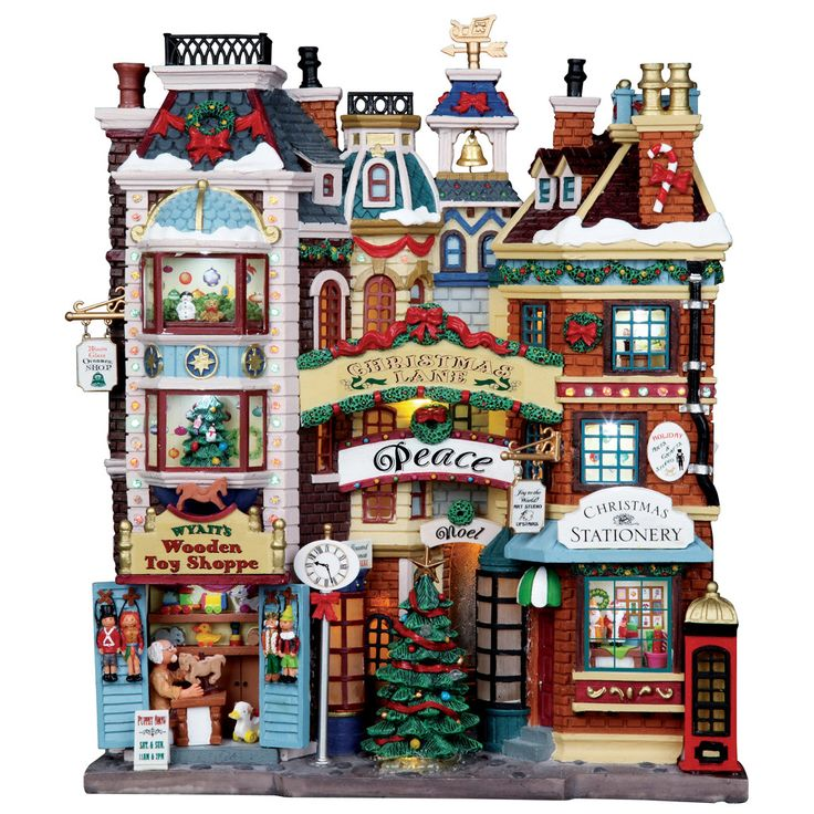 05104 Christmas Lane, Lemax Collectibles- Gift Spice