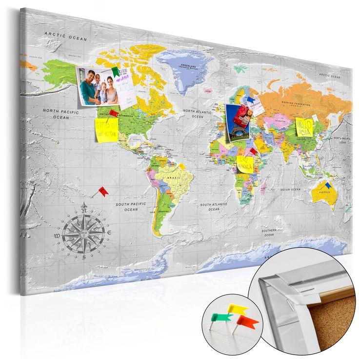 Votre intérieur est à 2 doigts de vous remercier  ---------------------------------------------------------------------  Tableau en liège World Map: Wind Rose  à 74,36€  sur https://www.recollection.fr/tableaux-cartes-du-monde/13208-tableau-en-liege-world-map-wind-rose.html  #Cartes du monde #mobilier #deco #Artgeist #recollection #decointerior #interiordesign #design #home  ---------------------------------------------------------------------  Mobilier design et décoration intérieure…
