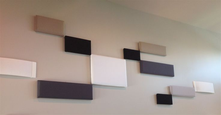 Great step-by-step for DIY acoustic panels. Cheap and easy.