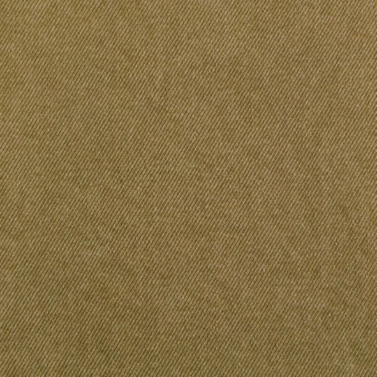 Washed Burlap Brown Upholstery Denim Sample