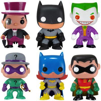 Funko Pop Batman Series... Batman's obviously the best, but Joker gives him a run for his money! :)